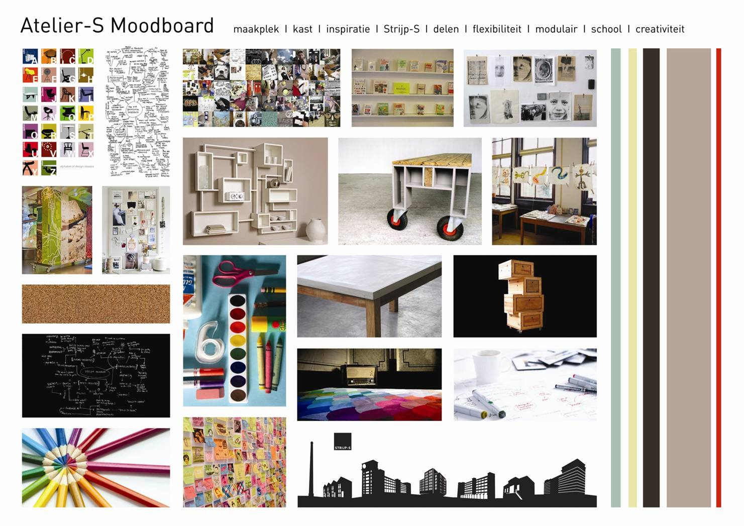 Atelier-S - Moodboard Concept